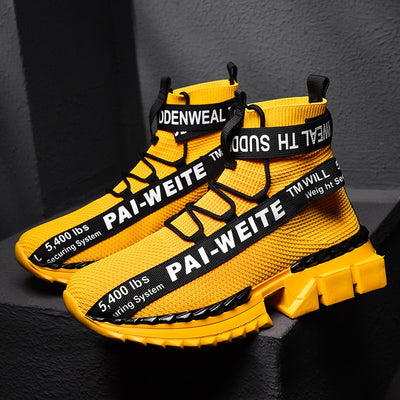 """Triple Strap Pai-Weite High's"" - Visual Streetwear"