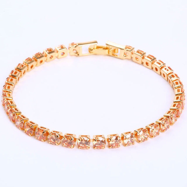 """Iced Out Tennis Bracelet"" - Visual Streetwear"
