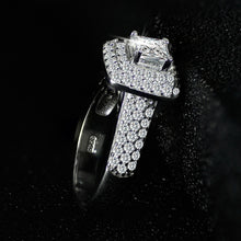 Load image into Gallery viewer, wedding band pair