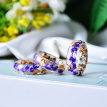 Load image into Gallery viewer, Handmade Dried Flower Rings