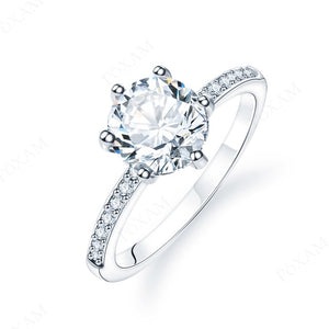 Princess Cut Engagement/Wedding rings | Crystal Zircon Ring for Women