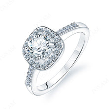 Load image into Gallery viewer, Princess Cut Engagement/Wedding rings | Crystal Zircon Ring for Women