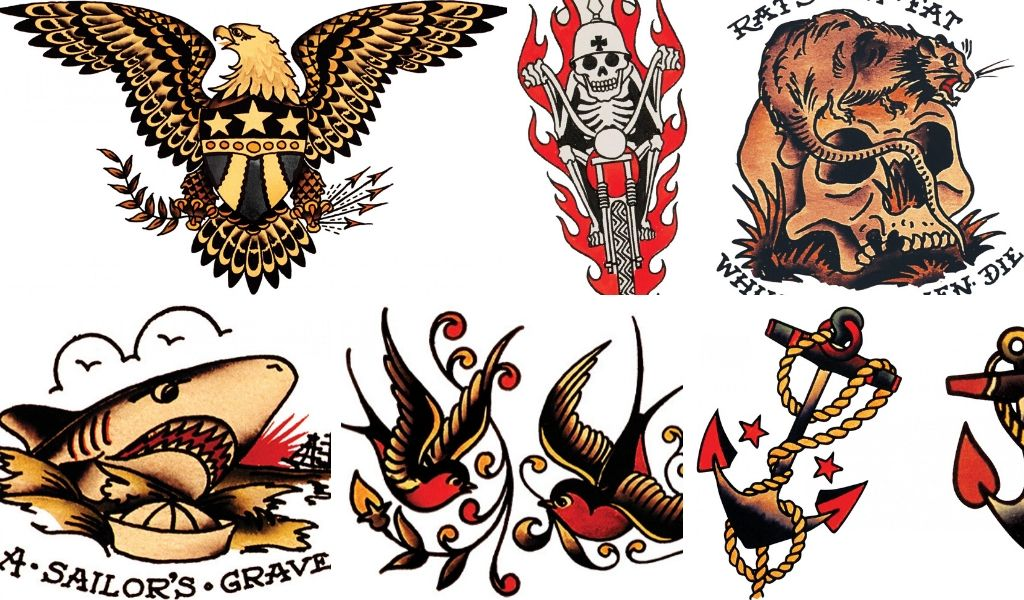 Old tattoos