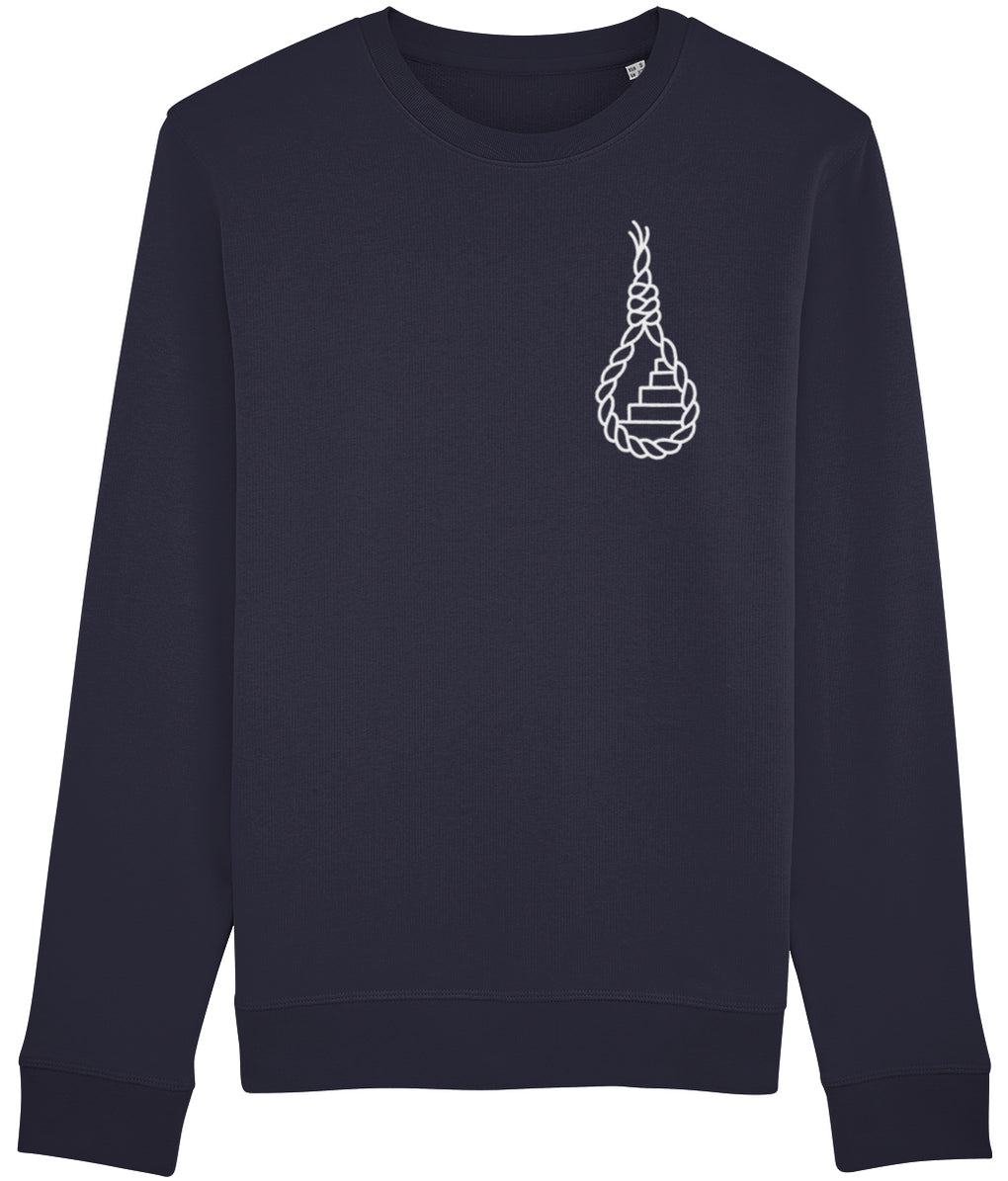Sailor Knot Navy Sweatshirt (Unisex)