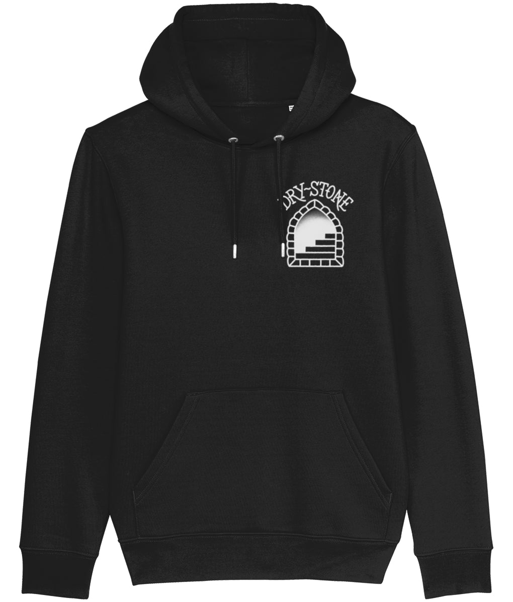 tattoo inspired Clothing X-Small / Black Snake and Skull - Black & Grey Hoodie
