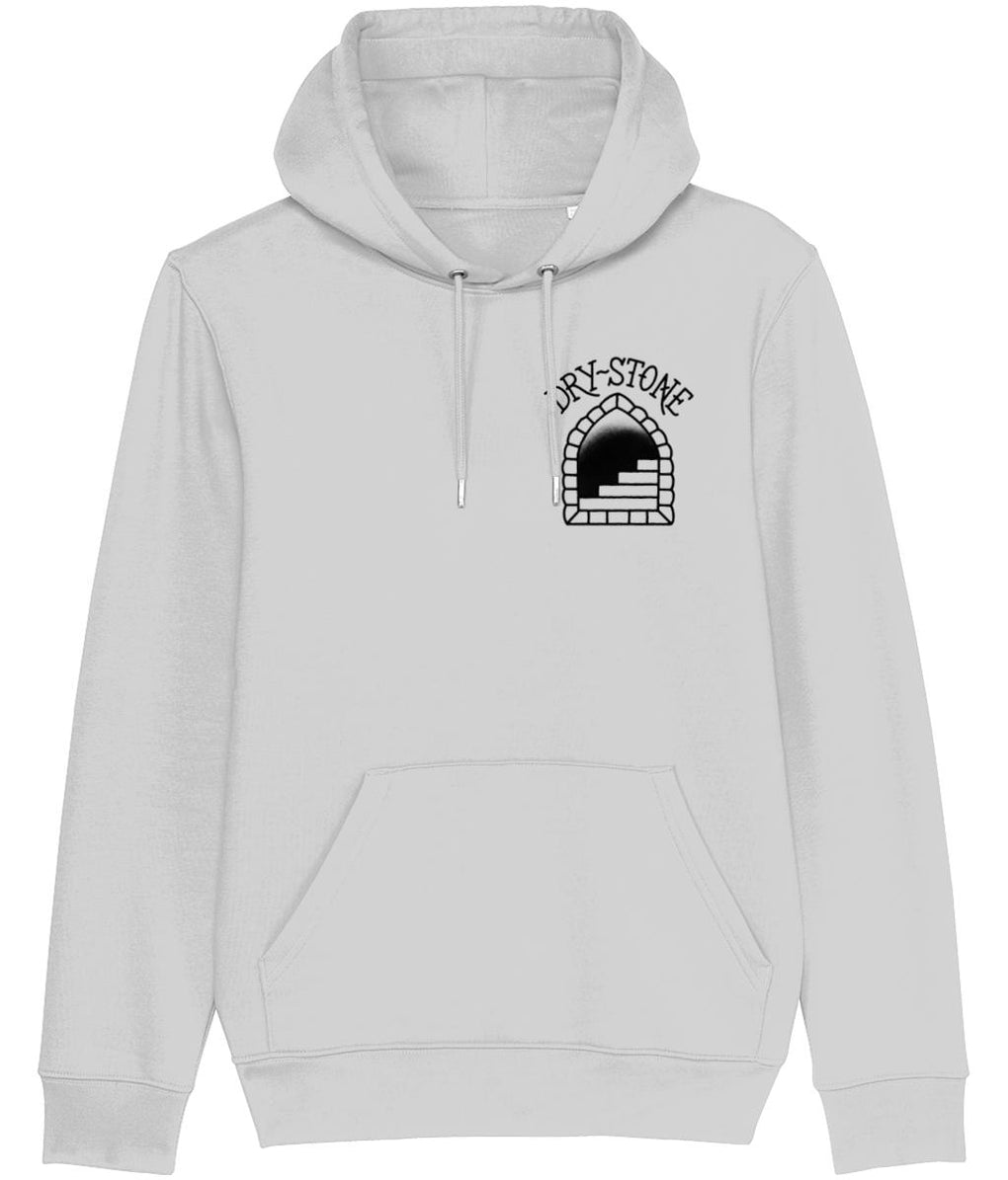 tattoo inspired Clothing X-Small / Grey Snake and Skull - Black & Grey Hoodie