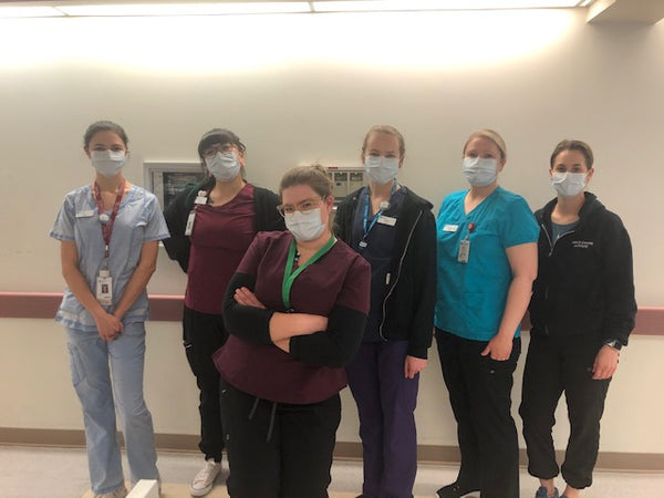 AHS nurses with our ear savers