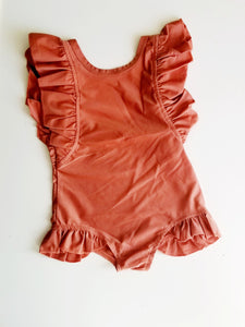 Toddler Girl Ruffles Swimsuit