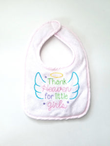 Terry Cloth Bibs Set of 3