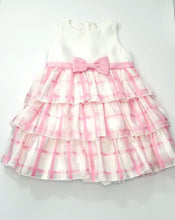 Load image into Gallery viewer, Ruffles Pink Plaid Dress
