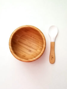 Bamboo Bowl Plate