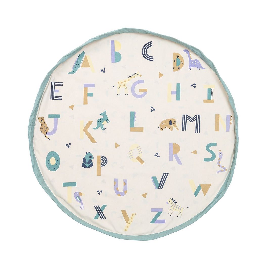 Animal Alphabet Toy Bag/ Play Mat