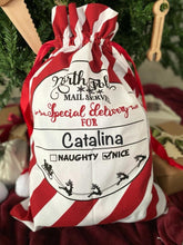 Load image into Gallery viewer, Personalized Santa Bag