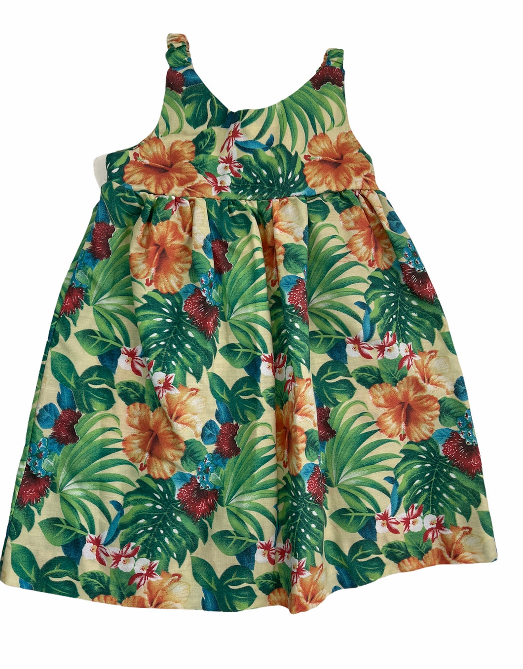 Tropical Handmade Dress