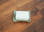 Ceramic Soap Dish - Seafoam Green