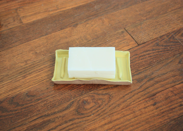 KY Themed Ceramic Soap Dish - Sunflower Yellow