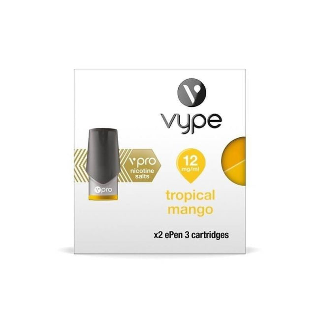 Tropical Mango flavoured made by leading scientists and flavour experts for your vape pen