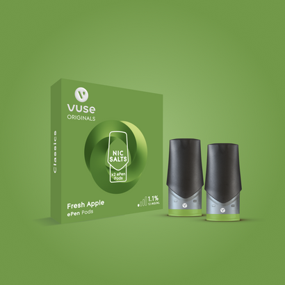 Vuse e liquid Fresh Apple pods