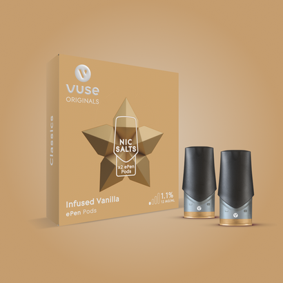 Vuse ePen Infused Vanilla Pods