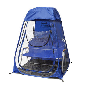 XLPod™ Pop-Up Backpacking Tent Royal Blue - Under the Weather® - Personal pop-up sports tent for mom, dad, kids, parents - Perfect for soccer, baseball, softball, football, youth team sports - As Seen on Shark Tank