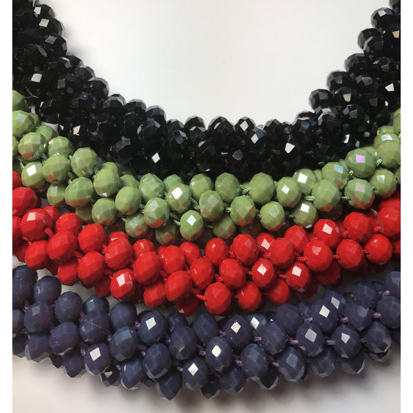 Beaded Necklace. Kumihimo Calssic