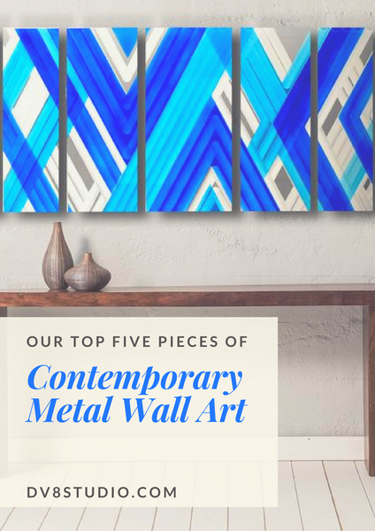 Our Top 5 Pieces of Contemporary Metal Wall Art
