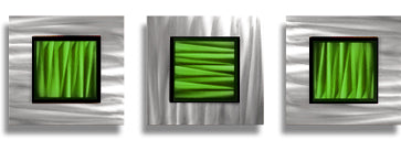 Green and Gold Metal Wall Art for St Patrick's Day