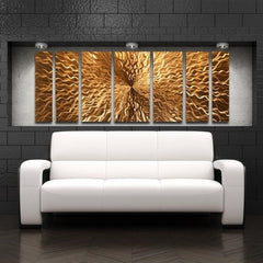 Cosmic Energy Copper Wall Art
