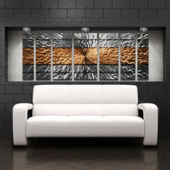 Copper Infinity Wall Art