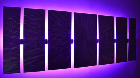 Lighted wall art a groundbreaking genre in art dv8 studio lighted picture in the dark mozeypictures Image collections