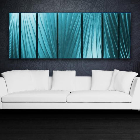 Main Attraction Large Modern Metal Wall Art