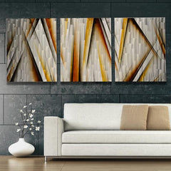 Extra Large Metal Wall Art Vanishing Point