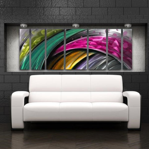 Adrenaline Abstract Metal Art