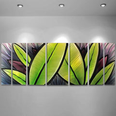 Grand Oasis Tropical Metal Wall Artwork