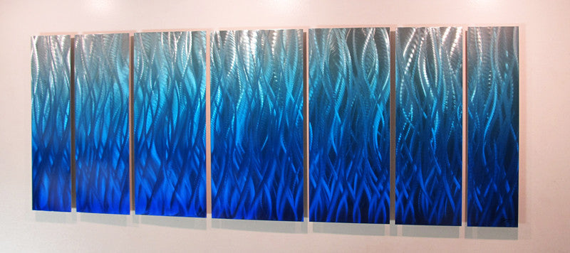 abstract metal wall art ebay ebayca blue flame modern contemporary sculpture work