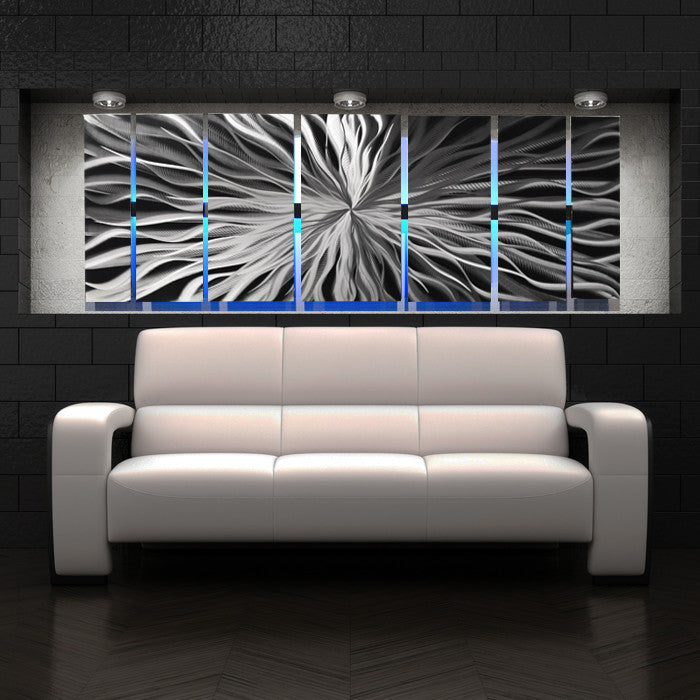 "Cosmic Energy Led"" Large Lighted Wall Art (Video!) By Brian Jones"