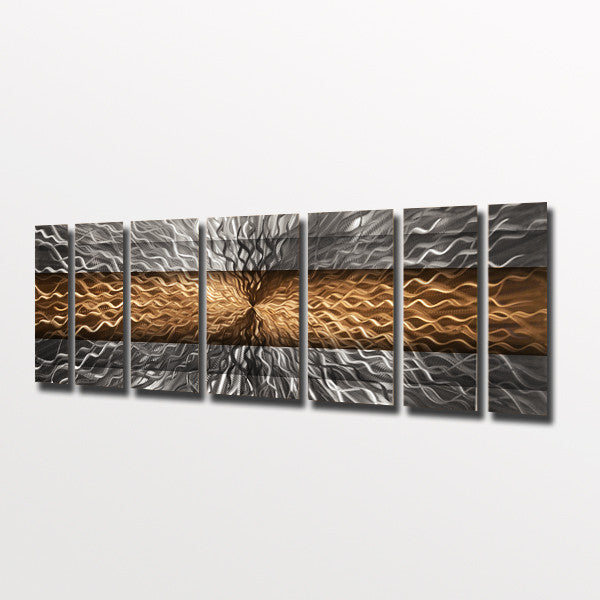 Quot Copper Infinity Quot 68 Quot X24 Quot Large Modern Abstract Metal Wall