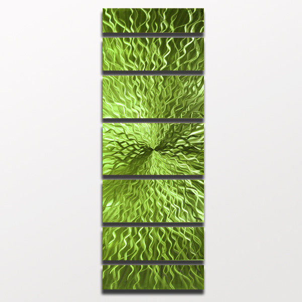 cosmic energy lime green candy 68 x24 large modern. Black Bedroom Furniture Sets. Home Design Ideas