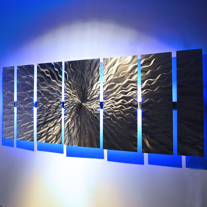 Quot Cosmic Energy Led Quot Large Lighted Wall Art Video By