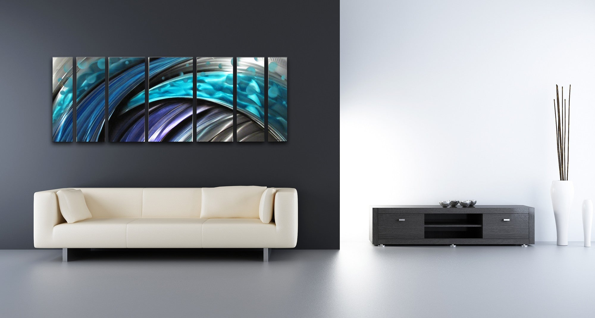 Contemporary Metal Wall Art Large Metal Wall Art Panels  Contemporary Abstract Artdv8 Studio