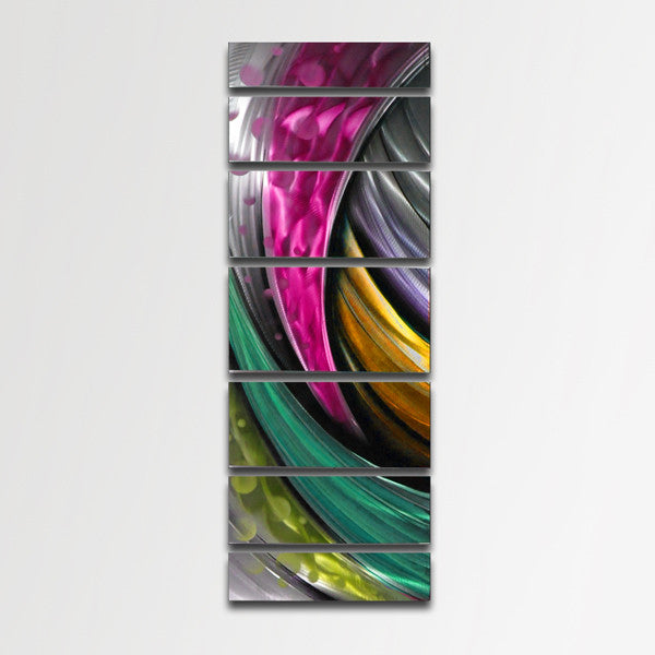 Quot Adrenaline Quot Large Modern Abstract Metal Wall Art