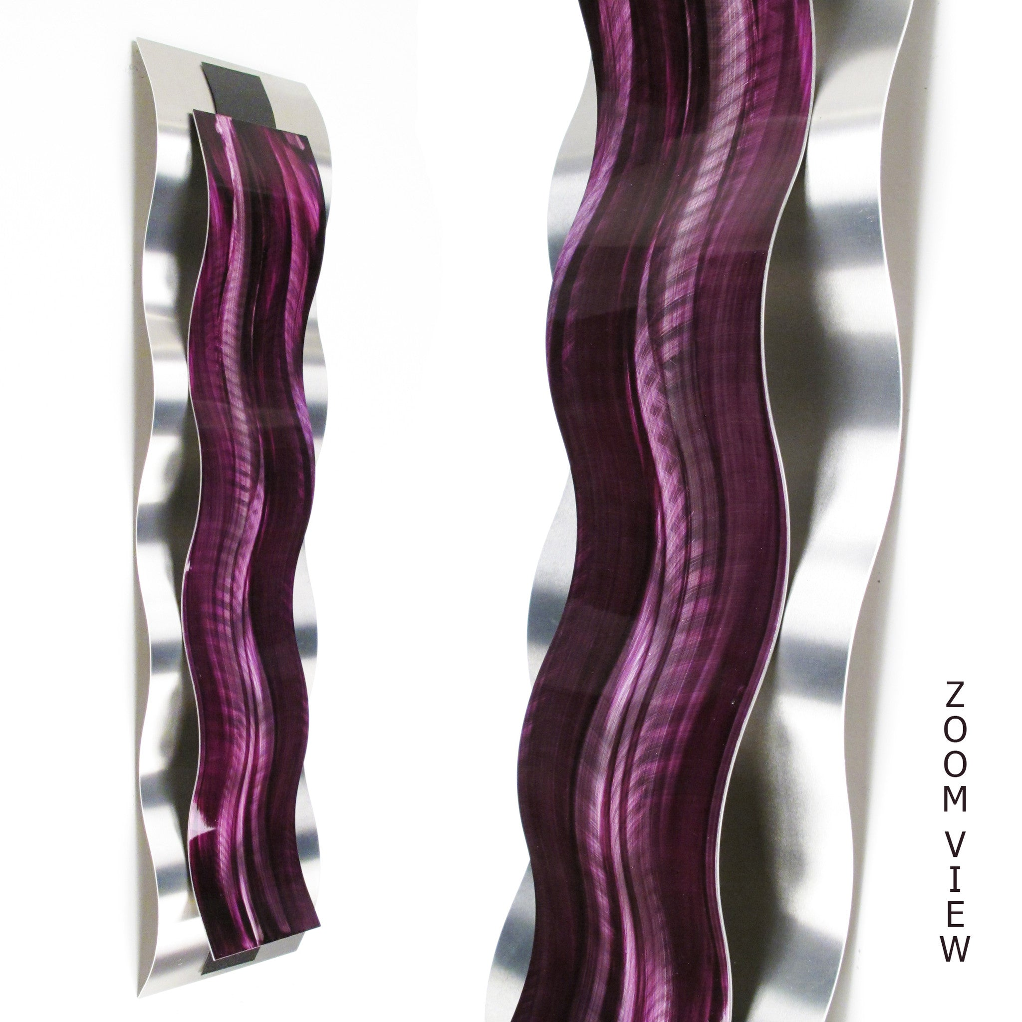 purple wall art rhythmic curves wall decor sculpture dv8 studio. Black Bedroom Furniture Sets. Home Design Ideas
