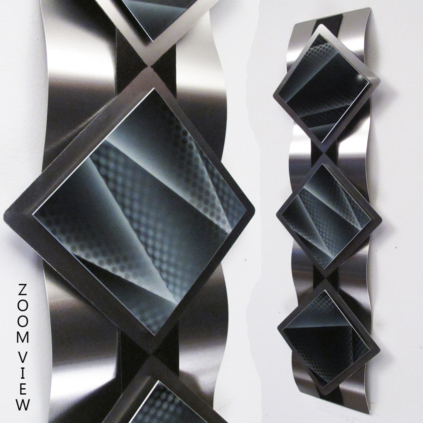 Quot Reflections Series Quot Modern Abstract Metal Wall Art