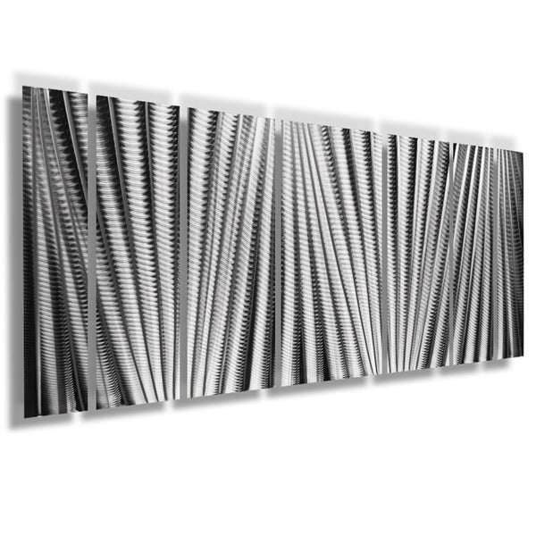 Quot Main Attraction Quot 66 Quot X24 Quot Large Earthtone Silver Modern