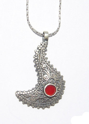 Agate Authentic Silver Pendant