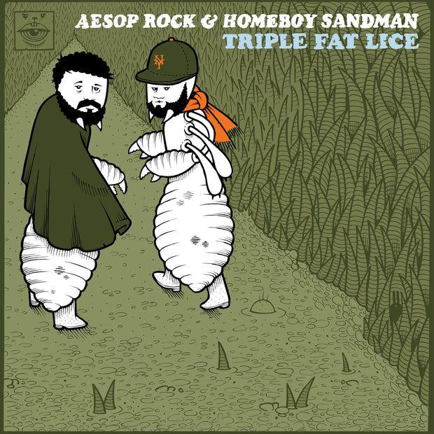 "Aesop Rock & Homeboy Sandman ""Lice 3: Triple Fat Lice"""