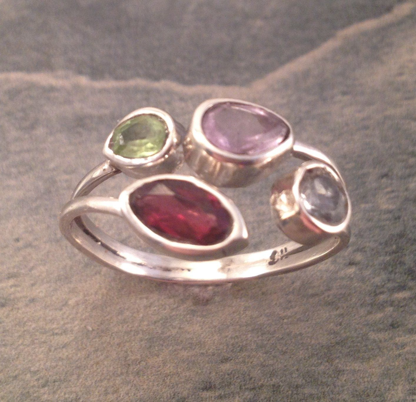 Family Birthstone Ring - Custom