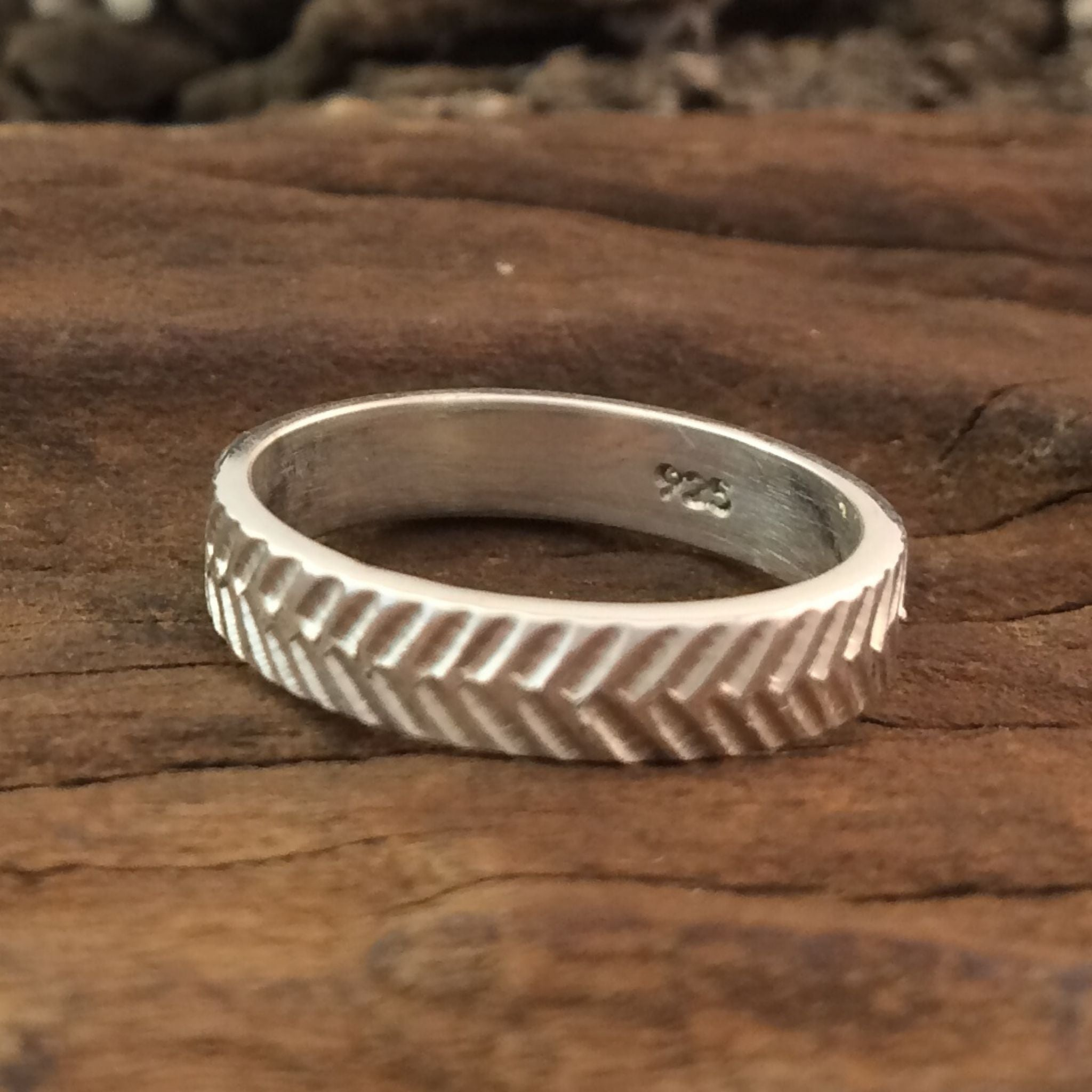 Great Zimbabwe Silver Stacking Rings