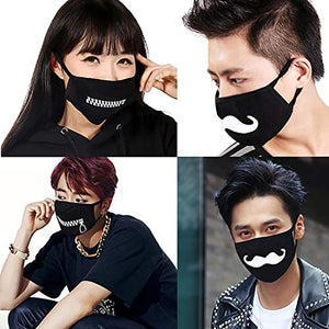 Mouth Mask, 9PCS Unisex  100% Cotton