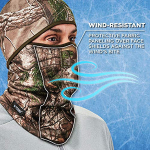 Wind-Resistant Camo Face Mask